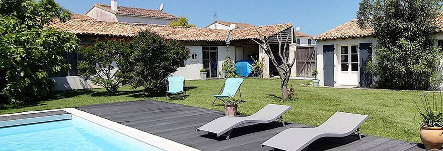 a holiday villa in Loix