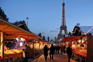 Le_marché de Noël européen au Trocadéro