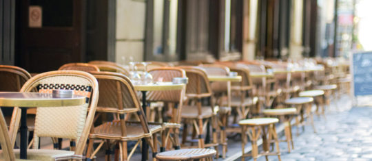 Bars and restaurants in Paris
