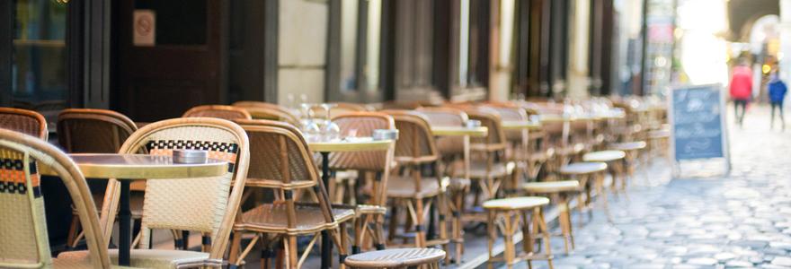 Bars and restaurants in Paris
